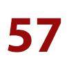 57 cm